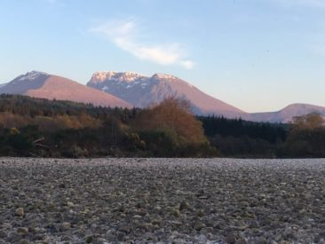 Ben Nevis Form the River Lochy