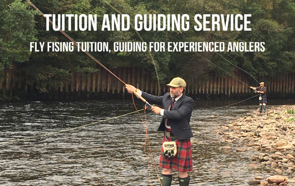Fly fishing instruction and salmon fishing guiding Fort William, Scotland