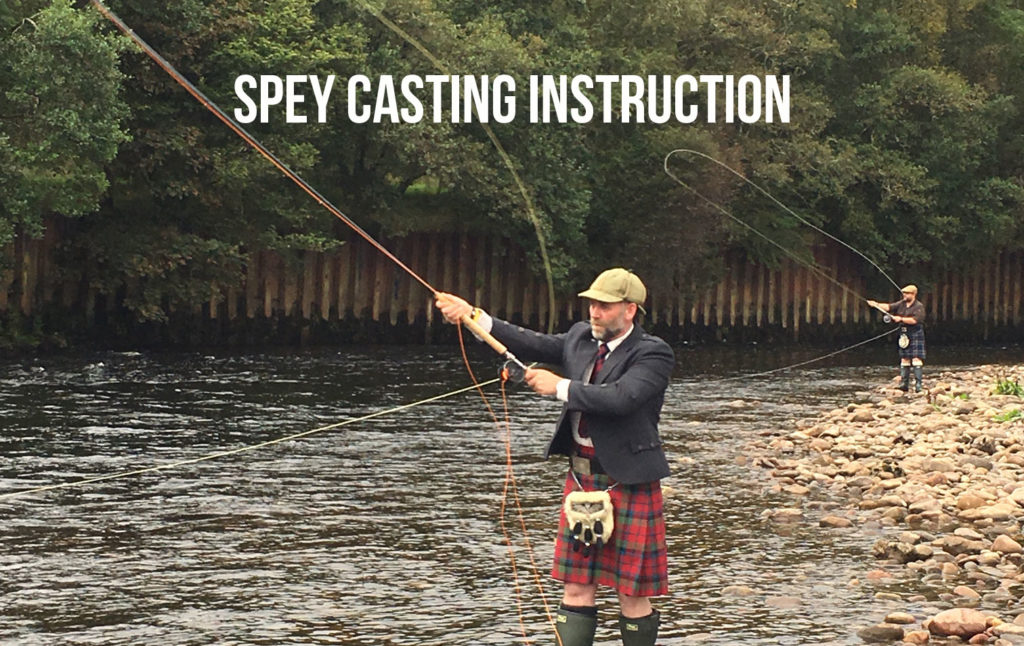 Spey Casting Instruction Scottish Highlands