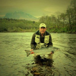 Salmon Fishing river Lochy