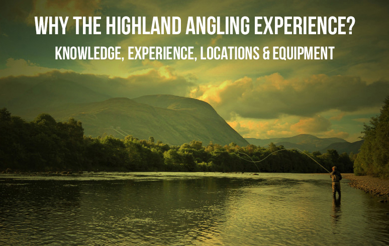 Guided Salmon fishing on the River Lochy, River Oich and River Garry in the Highlands of Scotland