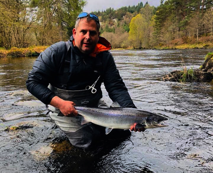 Andy Burton - Head Guide and Owner of The Highland Angling Experience