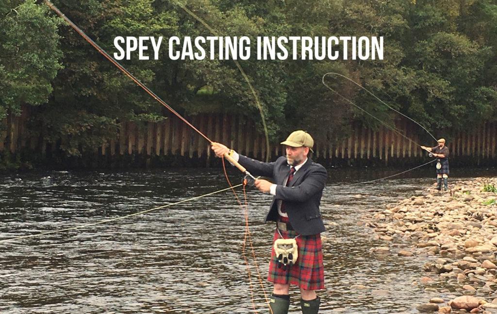 Spey Casting Instruction Scottish Highlands
