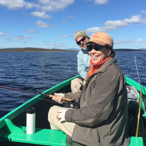 Trout fishing with The Highland Angling Experience